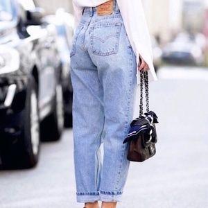 Vintage Levi's 501 High Rise Mom Jeans 36 waist